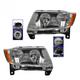 1ALHP00986-2011-13 Jeep Grand Cherokee Headlight Pair
