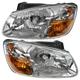 1ALHP00972-2007-08 Kia Spectra Headlight Pair