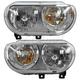 1ALHP00970-2008-14 Dodge Challenger Headlight Pair