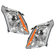 1ALHP00976-2010-13 Cadillac SRX Headlight Pair
