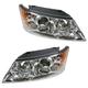 1ALHP00960-2009-10 Hyundai Sonata Headlight Pair