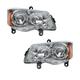 1ALHP00969-2008-10 Chrysler Town & Country Headlight Pair