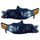 1ALHP00957-2007-08 Acura TL Headlight Pair