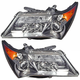 1ALHP00958-2007-09 Acura MDX Headlight Pair