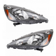 1ALHP00956-2009-14 Honda FIT Headlight Pair