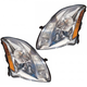 1ALHP00935-2004 Nissan Maxima Headlight Pair