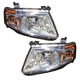 1ALHP00938-2008-11 Mazda Tribute Headlight Pair