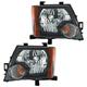 1ALHP00937-2009-15 Nissan Xterra Headlight Pair