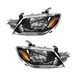 1ALHP00920-2003-04 Mitsubishi Outlander Headlight Pair