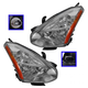 1ALHP00927-2008-12 Nissan Rogue Headlight Pair