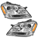 1ALHP00910-Mercedes Benz Headlight Pair