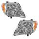 1ALHP00911-2009-17 Nissan Frontier Headlight Pair