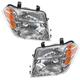 1ALHP00913-2008-12 Nissan Pathfinder Headlight Pair
