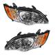 1ALHP00918-2008-09 Subaru Legacy Headlight Pair