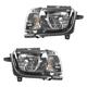 1ALHP00906-2010-13 Chevy Camaro Headlight Pair