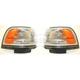 1ALPP00078-1987-91 Toyota Camry Corner Light Pair
