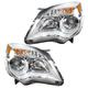 1ALHP00907-2010-15 Chevy Equinox Headlight Pair
