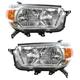 1ALHP00903-2010-13 Toyota 4Runner Headlight Pair