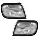 1ALPP00089-1995-96 Nissan Maxima Corner Light Pair