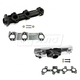 1AEEK00441-Exhaust Manifold & Gasket Kit Pair