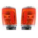 1ALPP00092-1987-88 Toyota Pickup Corner Light Pair