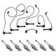 1AEDK00036-1995-97 Honda Accord Ignition Wire & NGK Spark Plug Set