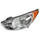 1ALHL01990-2010-13 Hyundai Tucson Headlight