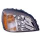 1ALHL01971-2003 Cadillac Deville Headlight
