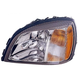 1ALHL01970-2003 Cadillac Deville Headlight