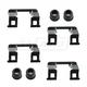 1ABRX00021-Caliper Hardware Kit Front