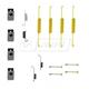 1ABRX00023-Drum Brake Hardware Kit Rear