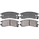 RABPS00034-Brake Pads Rear  Raybestos SGD714M
