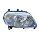 1ALHL01647-2007-10 Chevy HHR Headlight Passenger Side