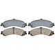 RABPS00018-Brake Pads Rear Raybestos SGD834C