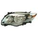 1ALHL01658-2009-10 Toyota Corolla Headlight