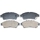 RABPS00058-Brake Pads CERAMIC Front Raybestos SGD562C