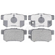 RABPS00051-Brake Pads Rear Raybestos SGD536C