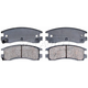 RABPS00053-Brake Pads Raybestos SGD698C