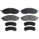 RABPS00041-Nissan Frontier Xterra Brake Pads Front Raybestos SGD830M