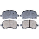 RABPS00062-1998-02 Chevy Prizm Toyota Corolla Brake Pads CERAMIC Front Raybestos SGD741C