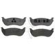 RABPS00066-Brake Pads Rear  Raybestos SGD981C