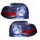 1ALTZ00050-1996-98 Ford Mustang Tail Light Pair