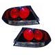1ALTZ00028-2004-07 Mitsubishi Lancer Tail Light Pair