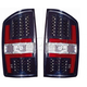 1ALTZ00020-Dodge Tail Light Pair