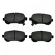 RABPS00016-Brake Pads Rear Raybestos SGD1326C