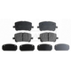 RABPS00015-2003-08 Brake Pads Front  Raybestos SGD923C