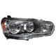 1ALHL01693-Mitsubishi Headlight Passenger Side