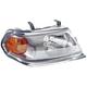 1ALHL01687-2000 Mitsubishi Montero Sport Headlight Passenger Side