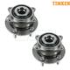TKSHS00706-Wheel Bearing & Hub Assembly Rear Pair