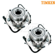 TKSHS00725-2007-13 Jeep Wrangler Wheel Bearing & Hub Assembly Front Pair Timken HA590242